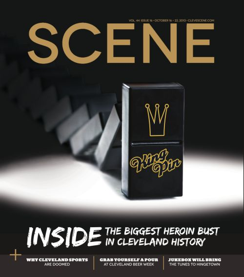 Cleveland Scene heroin bust cover