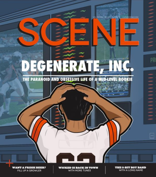 Cleveland Scene degenerate cover