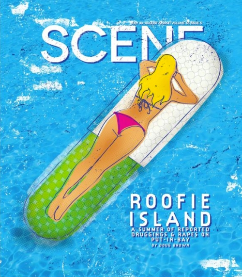 Roofie Island cover